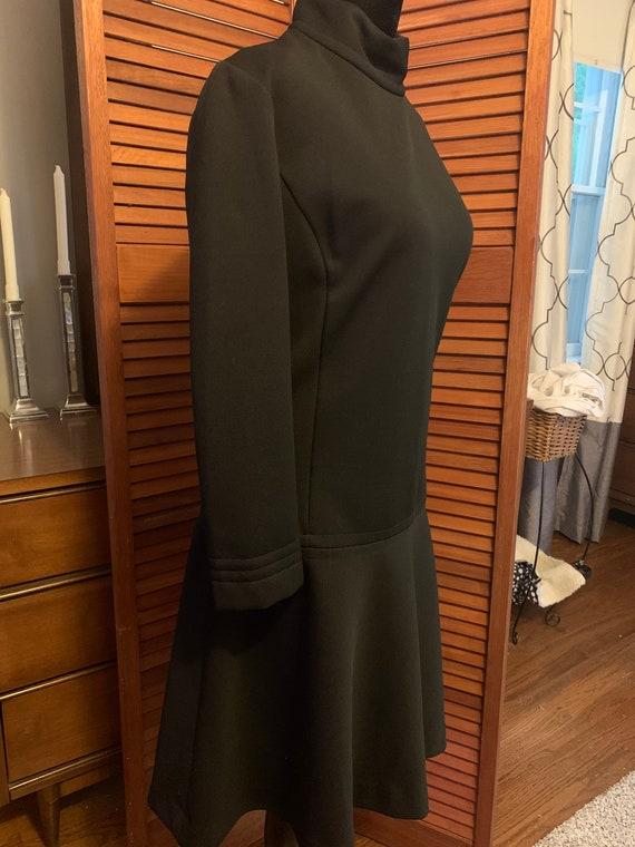 Catalina California Vintage Black Polyester Dress - image 4