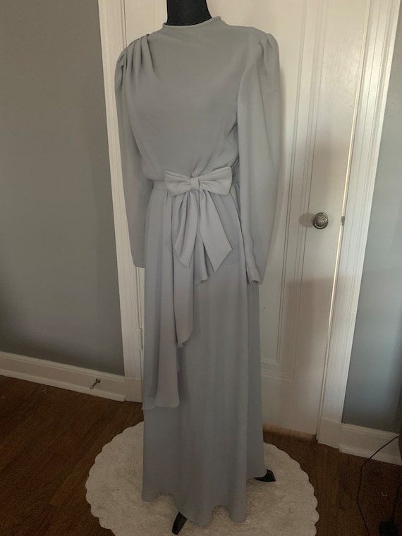 Emma Domb Gray Formal Gown