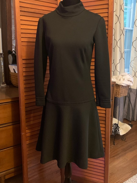 Catalina California Vintage Black Polyester Dress