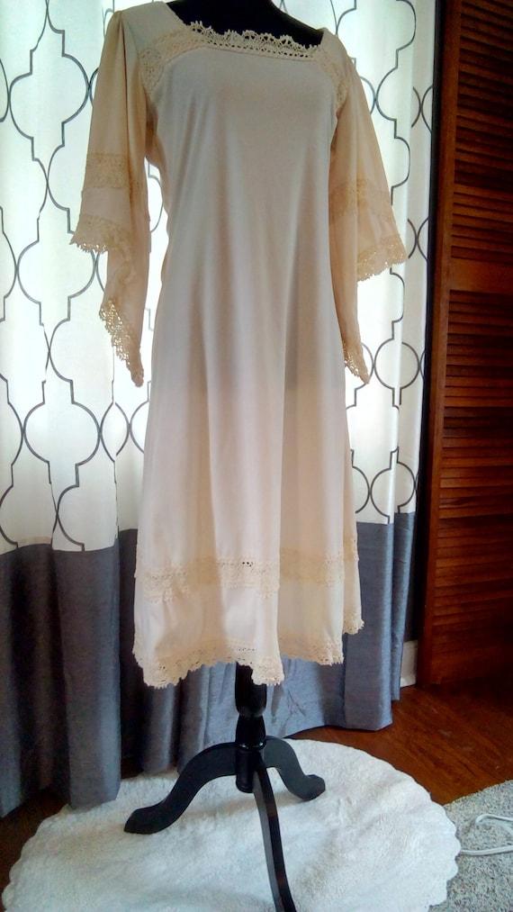 1970s Boho dress