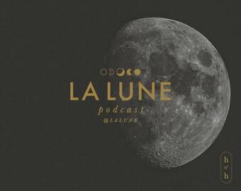 Moon Logo, Tarot Logo, Moon Phases, Luna Logo, Tarot Reading Logo, Minimal Logo Design, Premade Logo, Minimal Design, Logo Design