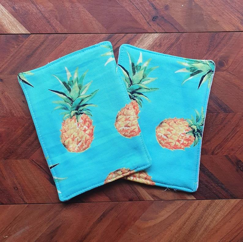 Eco-friendly Kitchen Wipes Pineapple Print