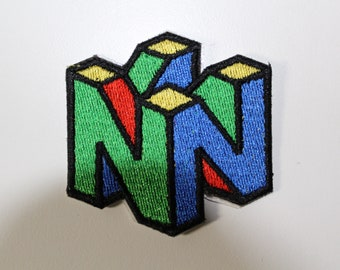 Video Game Patch Etsy