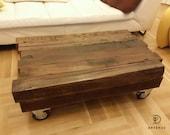 Reclaimed Oak Beam Coffee Table