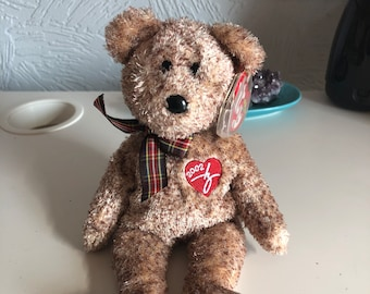 Collectible, retired – Ty beanie 2002 signature bear (2002) perfect condition with original tag