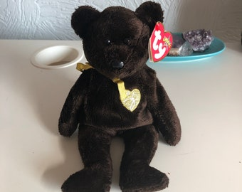 Collectible, retired – Ty beanie 2003 signature bear (2002) perfect condition with original tag