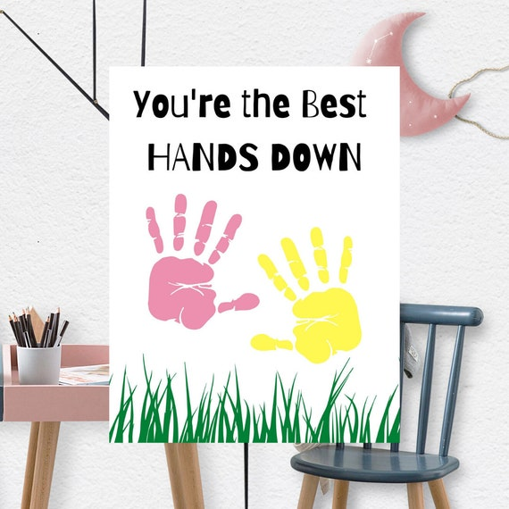 You're The Best Happy Mother's Day Handprint
