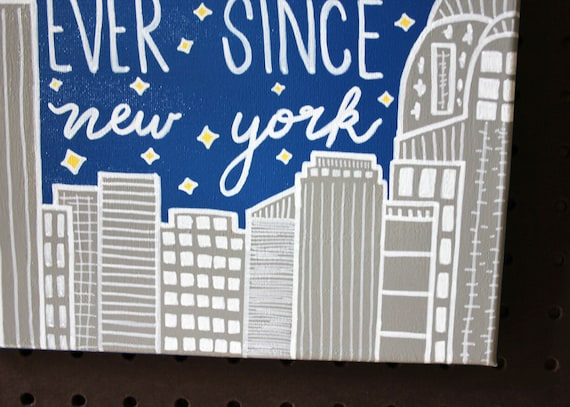 Harry Styles Ever Since New York Inspired Cross Stitch Kit
