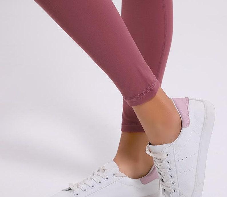 Violet Alexa Buttery-Soft High-Waist Leggings