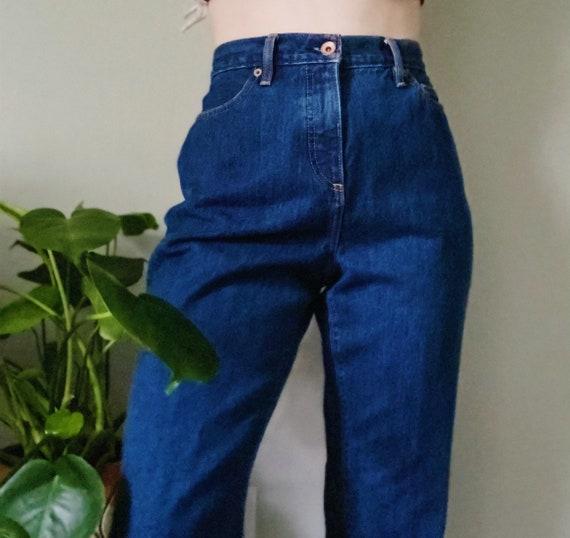 Mom jeans, dark wash mom jeans, vintage mom jeans,