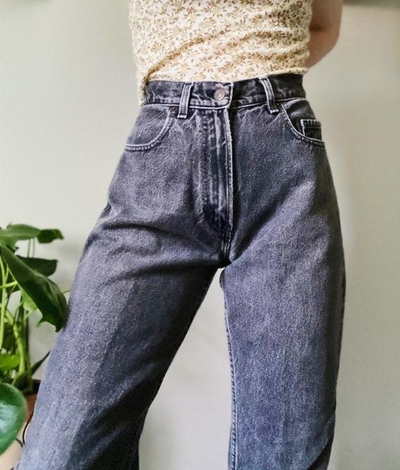Gap mom jeans, black mom jeans, vintage mom jeans,