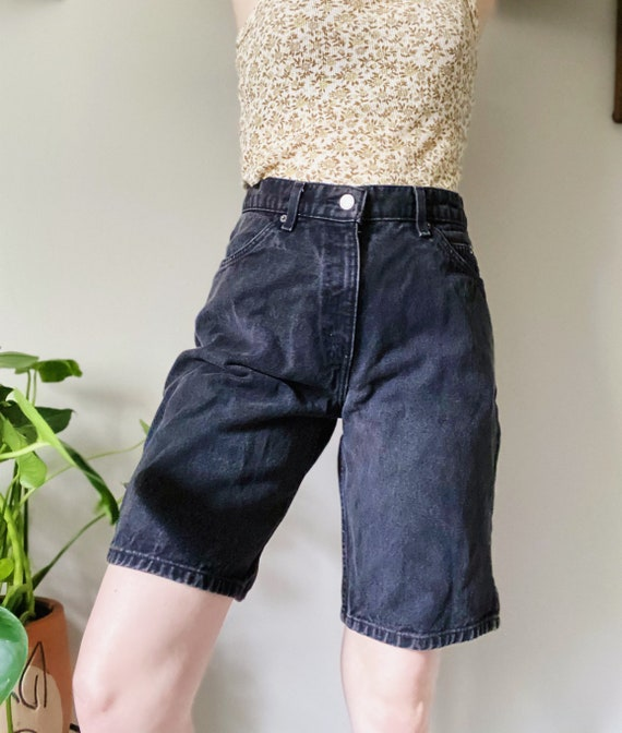 Levis, levis shorts, mom jeans, black levis, levis