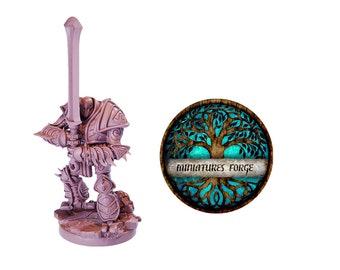 Em War-Construct Juggernaut Sword   miniature  - Get FREE Wooden RPG engraved BOX!  DnD miniatures   Dungeons and dragons D&D tabletop