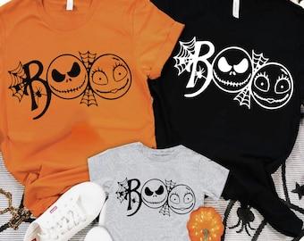 Nightmare before christmas shirt/ jack skellington shirt/Family Halloween shirts/Mickey trick or treat Halloween party 2021 /FREE SHIPPING