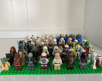 Lego Star Wars minifig lot 5x mystery pack