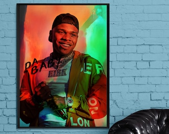 DaBaby KIRK Custom Personalized Silk Poster Wall Decor