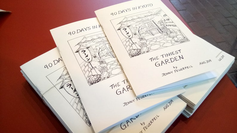 The Tiniest Garden  90 Days in Kyoto  A Short Graphic Novel image 0