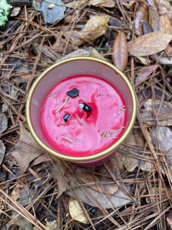 Handmade Soy Root Chakra Clearing Candle