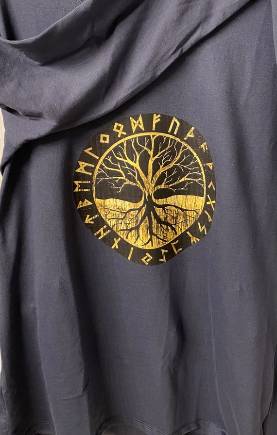 Tree of Life Rune Long Sleeve Shirt