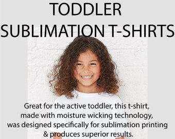 Toddler, 2t, 3t, 4t, 5t, 6t, Blank T-Shirts, tee-shirts, Blank, sublimation shirts, 100% polyester, Super Soft Feel