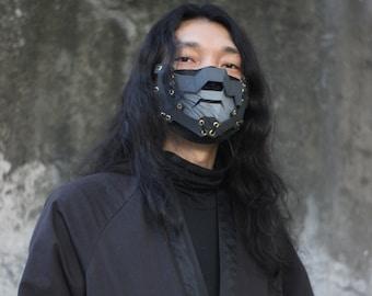 "Mask Shield  Design By Gins MK.8 ""RAIJIN""  Techwear  mask Futuristic mask"