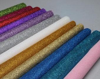 You Choose ColourSize Priced per Sheet Sparkly Glitter Felt