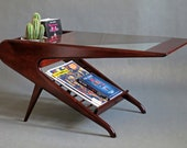 Mid Century Coffee Table in the Style of Ico Parisi Italian DANISH Modern NEW