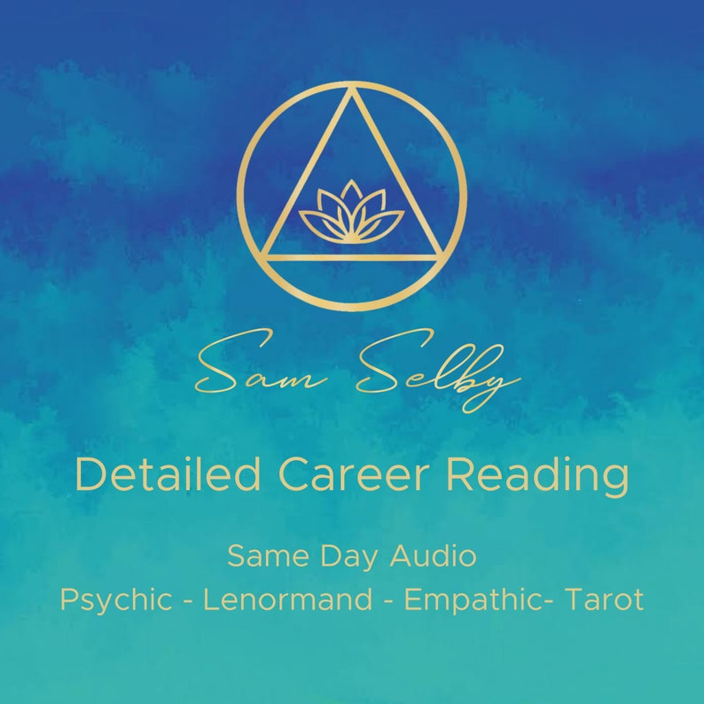 Detailed Career Psychic Reading Fast Same-day Lenormand image 0