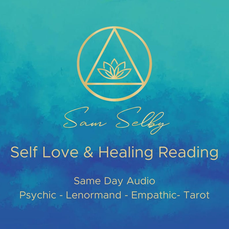 Self Love and Healing Psychic Reading Lenormand Tarot Fast image 0