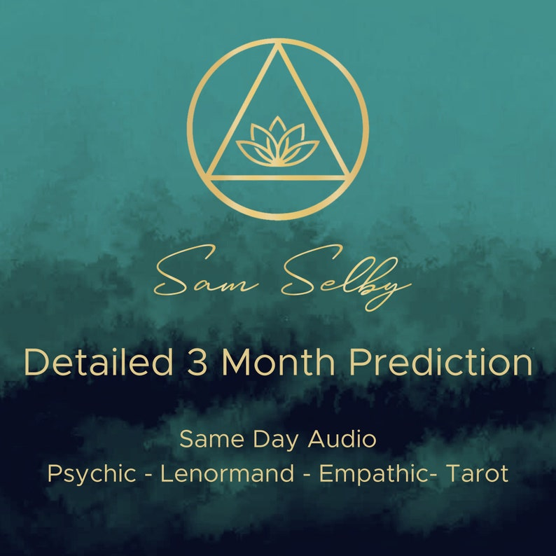 Detailed 3 Month Psychic Reading Fast Same-day Lenormand image 0