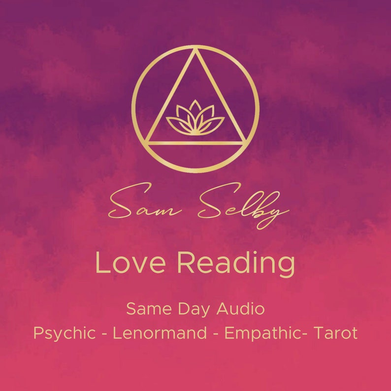 Detailed Love Psychic Reading Lenormand Tarot Fast Same-day image 0