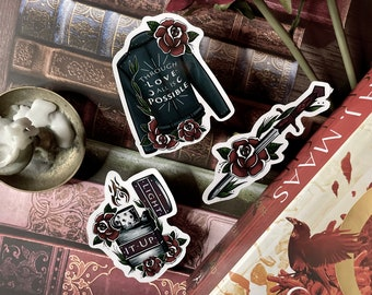 Crescent City | Danika | Vinyl Stickers | Sticker Pack | Bookish