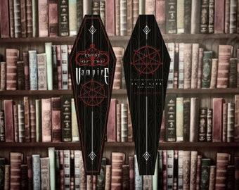 Empire Of The Vampire | Coffin Bookmark | Silver Saint | Bookish | Bookmark | *PRE ORDER*