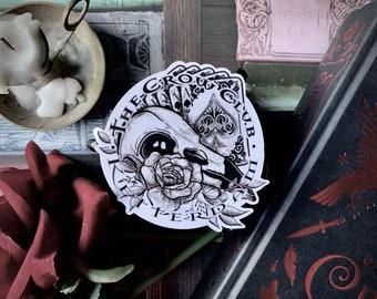 The Crow Club | Sticker Pack | Six Of Crows | Ketterdam | Shadow and Bone | Leigh Bardugo