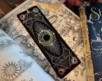 Shadow And Bone Inspired Gold Foiled Bookmark- Premium
