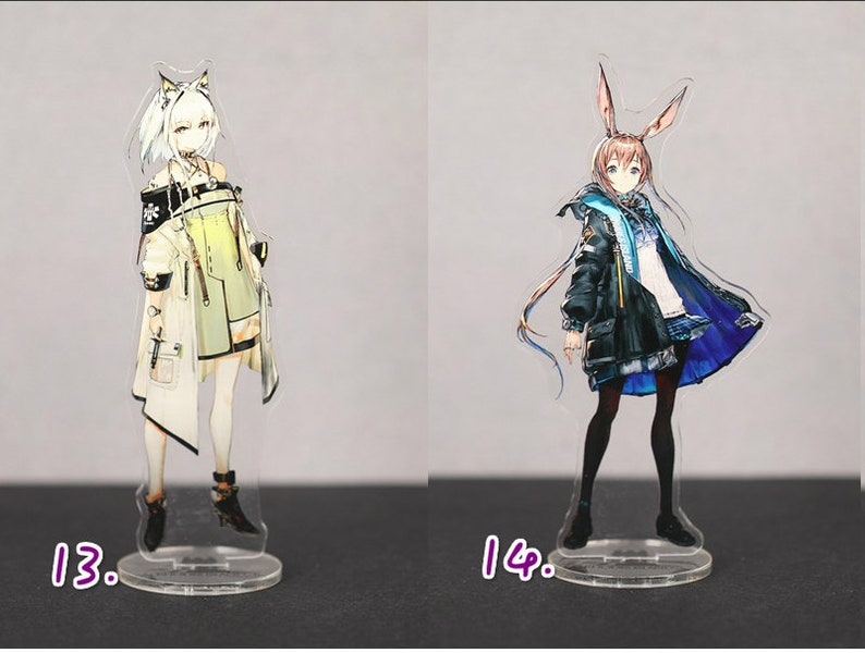 Arknights Online Game Anime Acrylic Display Stand