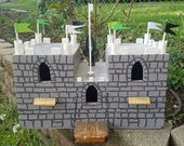 Castle Birdhouse Medieval Hand Crafted Quality Birdhouses- Unique, Fun, Quirky