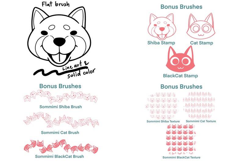 Procreate brushs 33 brushes+9 bonus brushes MY brushes I always use