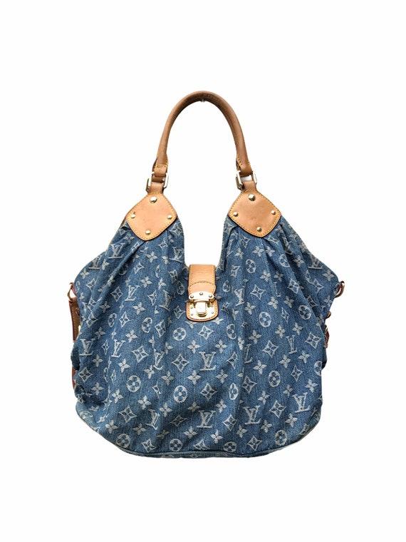 Louis Vuitton Monogram Denim Mahina XL Bag