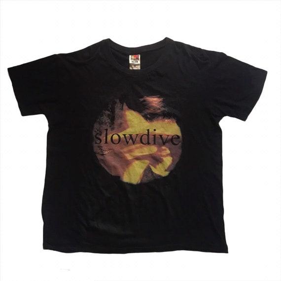 Vintage Slowdive Tshirt Single Stitch