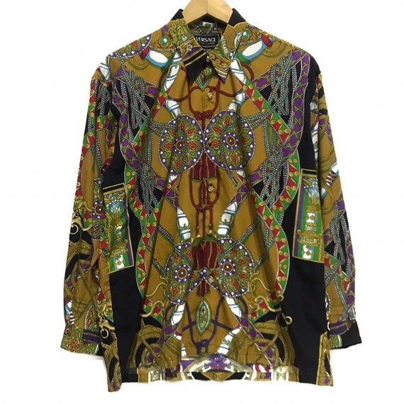 Vintages Versace Silk Shirt