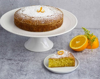 Orange Blossom Olive Oil Cake   Best Homemade Cake Made to Order   Unique Birthday, Wedding, Thank You Gift