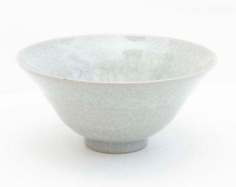 Bell bowl 18 cm / Handmade ceramics / Ceramic tableware / Seladon/ Hand-turned • Bowl / Cereal bowl / Soup bowl
