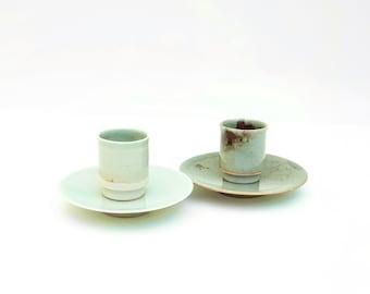 Espresso Set / Mugs / Snack Plates / Set *Handmade Ceramics / Tableware Set / Coffee Mug