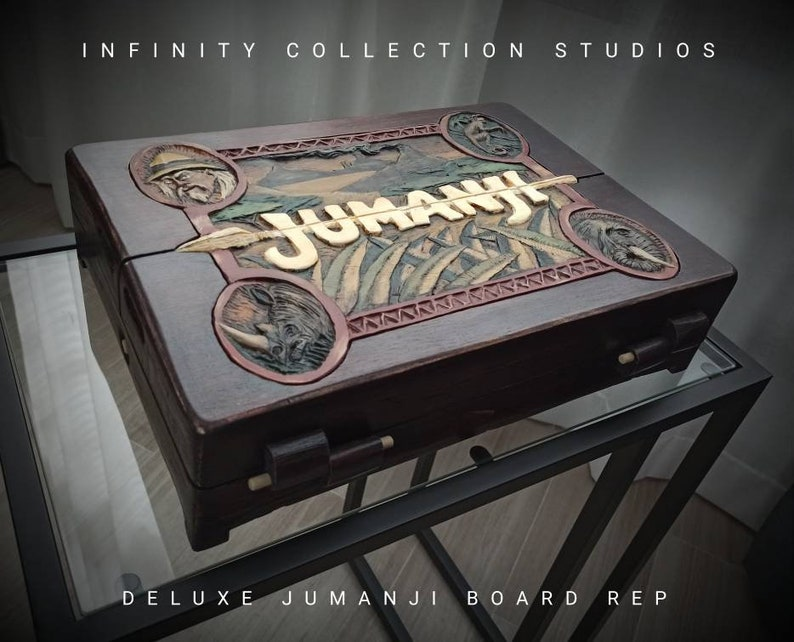 Deluxe Jumanji Board Replica 1:1 With led system. Available in image 1