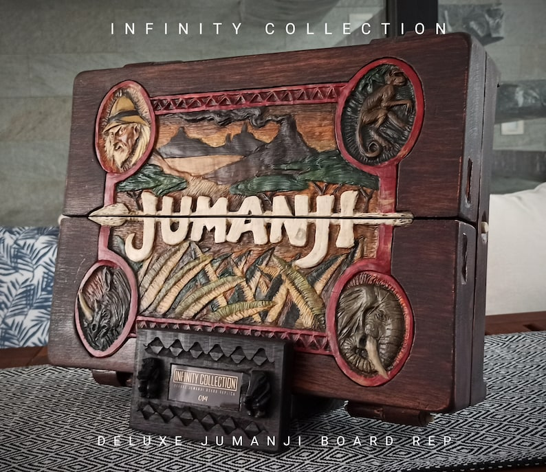 Jumanji Game Board. Jumanji Board Game Retroiluminado + exp