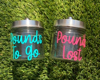 Weight Loss Jars Etsy