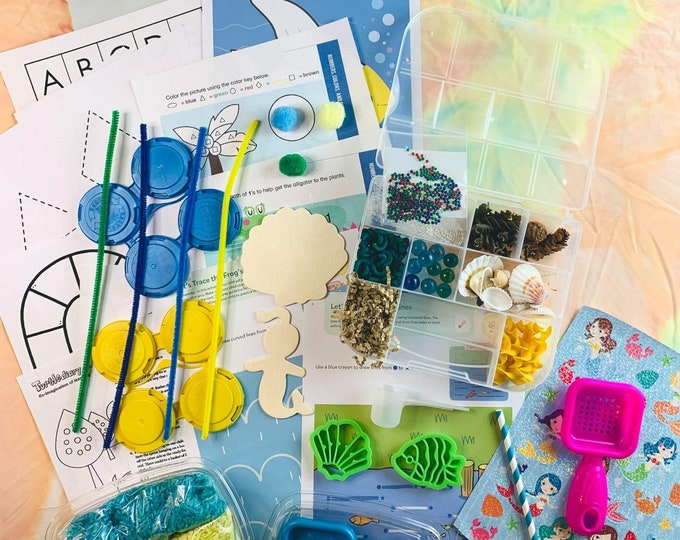 Under The Sea 2 Sensory Play in a Bag & Kit