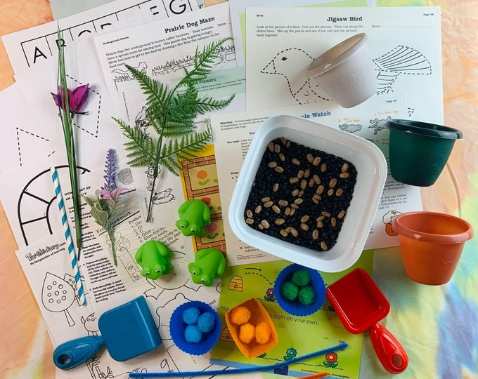 Three Little Frogs Red Sensory Play & Kit