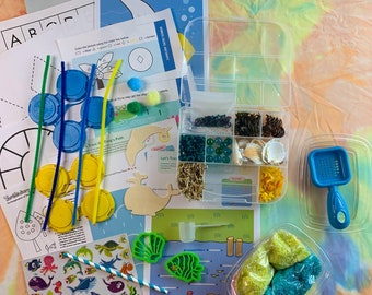 Under The Sea 1 Sensory Play in a Bag & Kit
